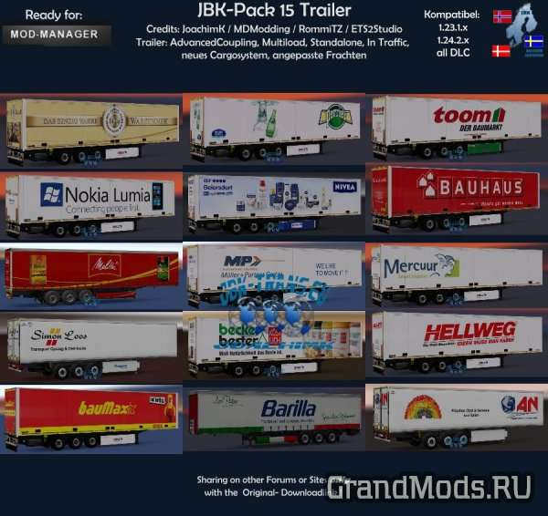JBK-PACK 216-15 TRAILER V1 [ETS2]