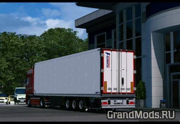 Schmitz S.KO24 for SCS Trucks [ETS2]
