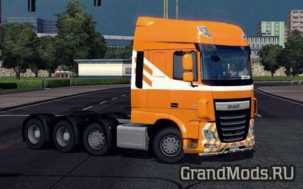 8X4 CHASSIS FOR DAF EURO6 [ETS2]