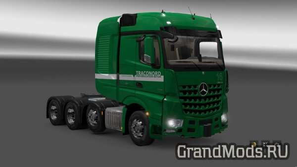 Heavy Haulage Skins for Big Stars Actros/Arocs [ETS2]