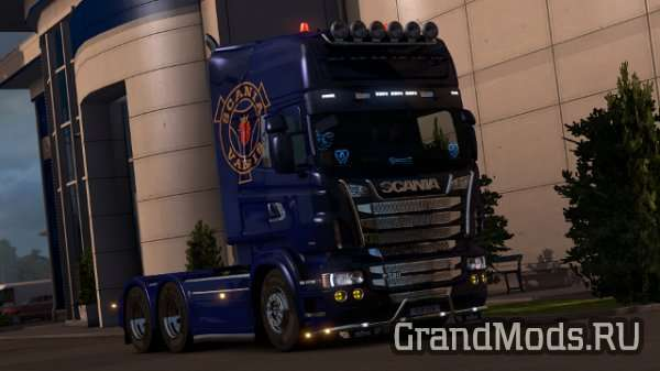 RJL Mighty Griffin DLC Addon [ETS2]