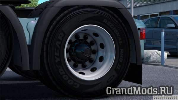 Rims and tyres by abasstreppas [ETS2]