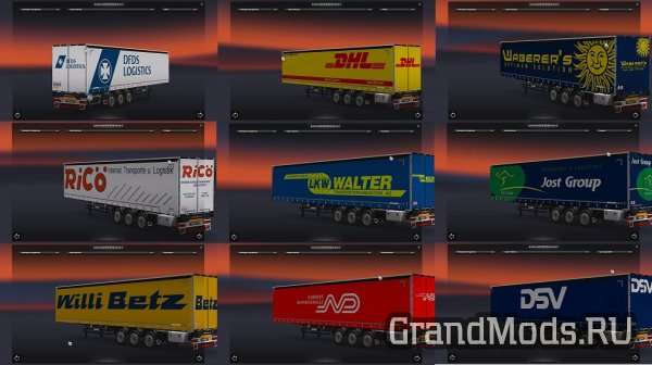 TRAILERS INTERNACIONAL SKIN PACK