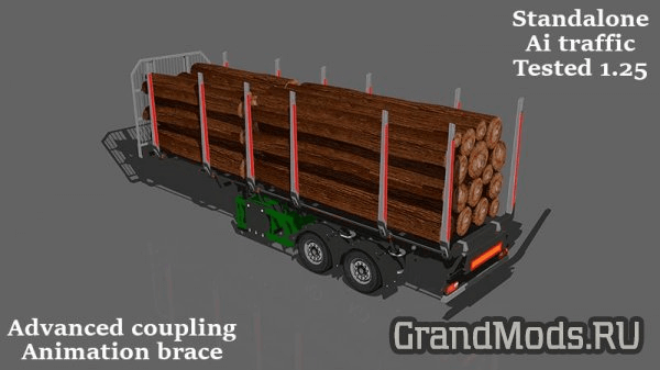 SMALL LOG TRAILER 1.25 [ETS2]