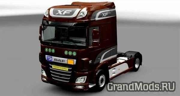 Таблички грузовиков [ETS2]