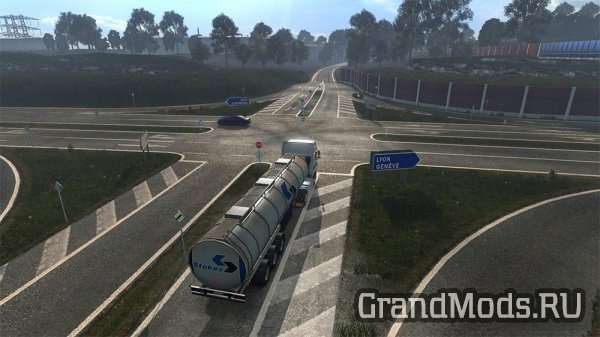 NEW ROAD HD BY OVER GAME V1.0 [ETS2]