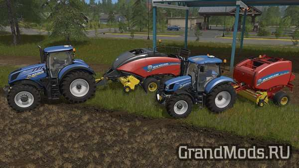New Holland Baler Pack [FS17]