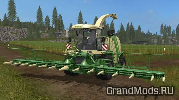 Krone BiG X 1100 Pack [FS17]