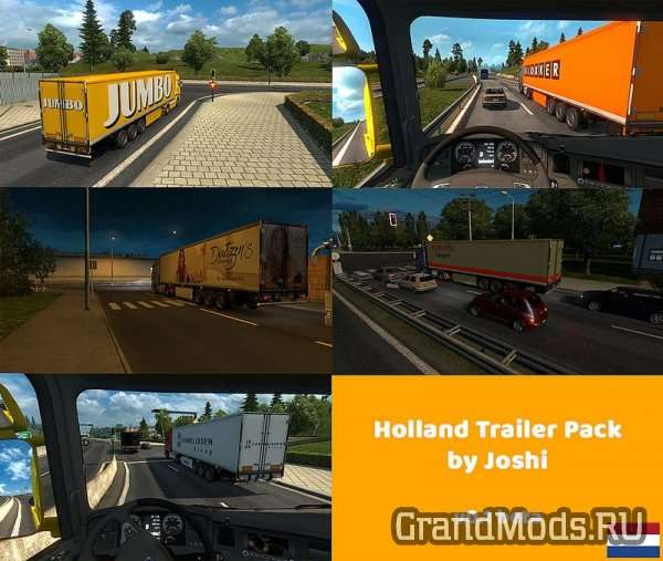 Holland Trailer Pack by Joshi [ETS2]