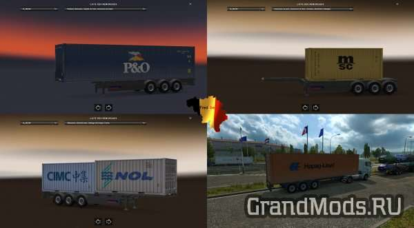 TRAILER PACK CONTAINER #1 [ETS2]
