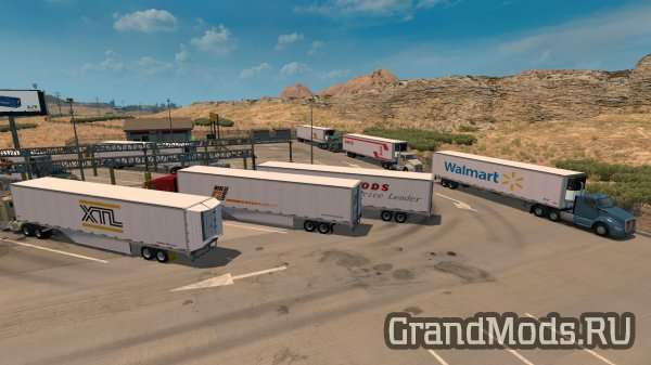 Wabash Duraplate Reworked Trailer v 1.0 [ATS]