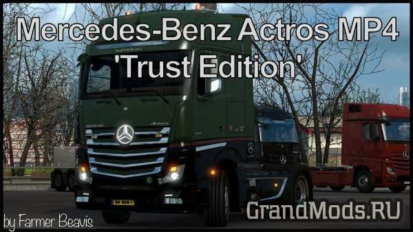 Mercedes-Benz Actros MP4 'Trust Edition' [ETS2]