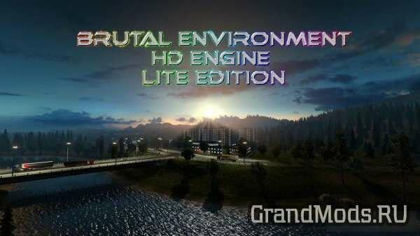 Brutal Environment HD Engine Lite Edition [ETS2]