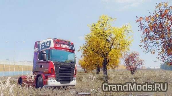 Realistic Autumn Mod [ETS2]