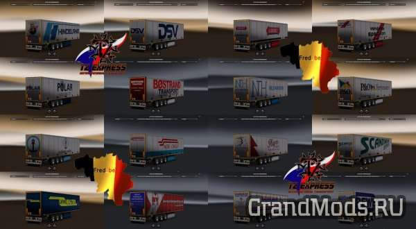 Trailer Pack SKO V1.26 [UPDATE] [ETS2]