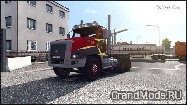 CAT CT660 v 2.0 [ETS2]