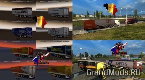 Trailer Pack Replaces [ETS2]