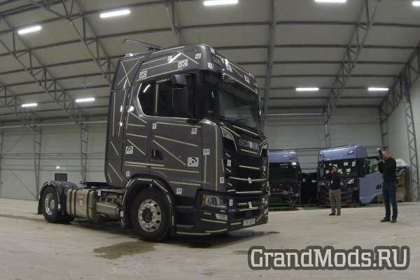 SCS работает над новыми грузовиками Scania R и S