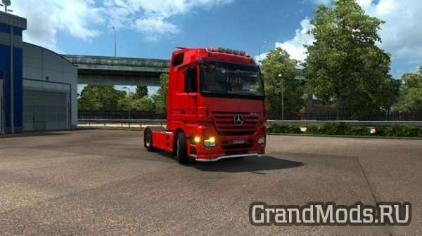 Mercedes Benz Actros MP2 [ETS2]