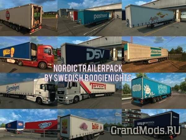 NORDIC TRAILERS PACK V1.0 [ETS2]
