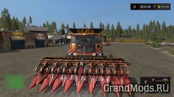 Комбайн New Holland CR [FS17]