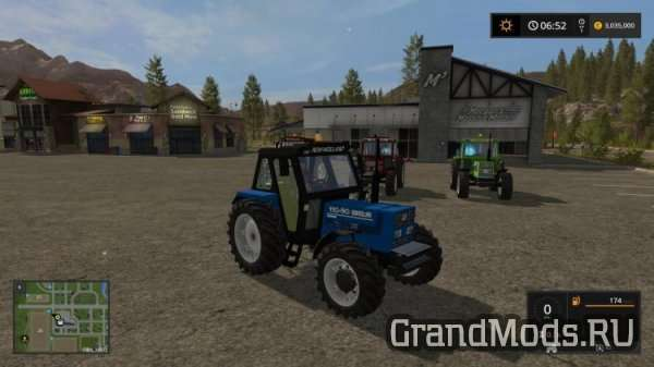 New Holland Blu [FS17]