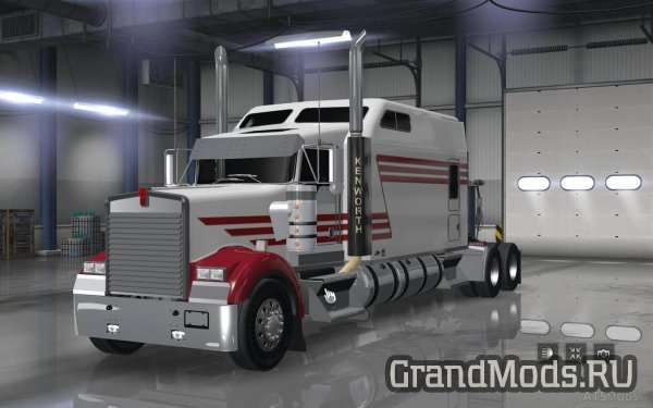 Kenworth W900 Long Remix ATS 1.5 [ATS]
