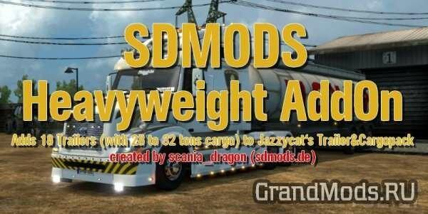 SDMods Heavyweight AddOn v1.0.1 [ETS2]