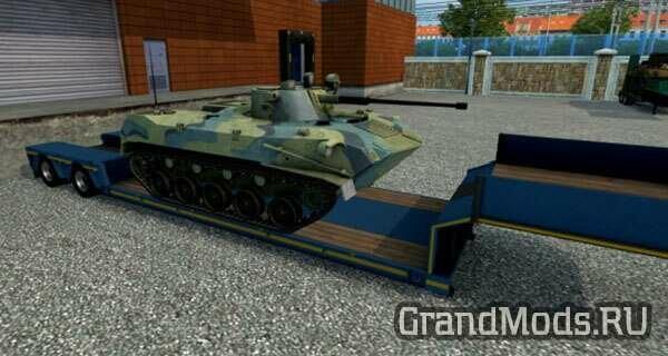Набор военных грузов v4.9 для ETS2