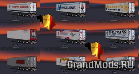 Trailer Pack by Fred_be V10 [ETS2]