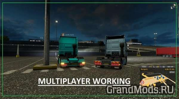 DAF XF Rear Bumper V 3.0 [ETS2 MP]