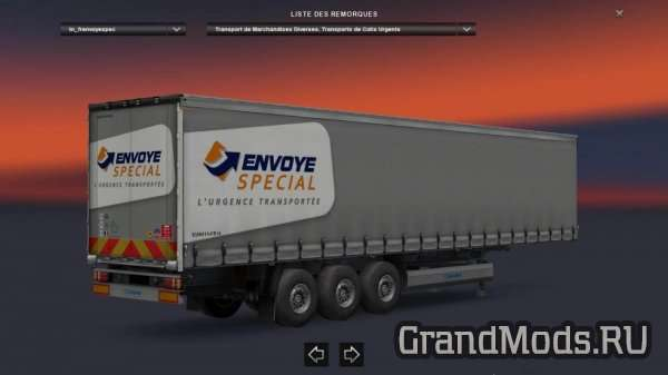 FRANCE Trailers Pack + de 130 trailers [ETS2]