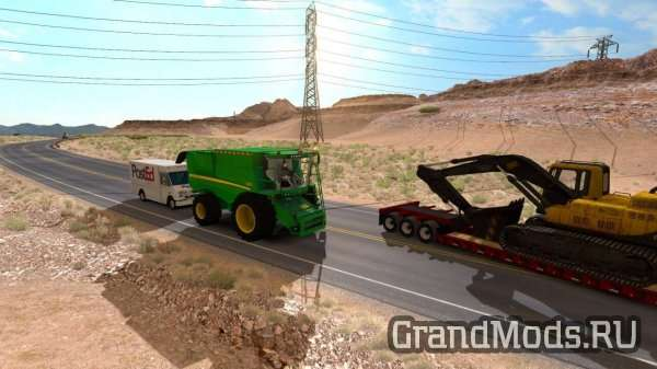 Combine in Traffic [ATS-ETS2]
