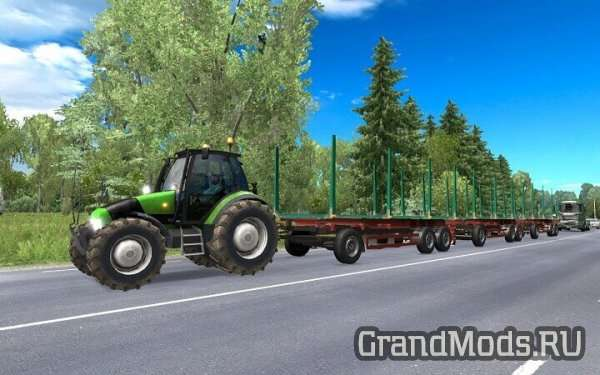 Tractor and Trailer with Sounds v 3.1 [ETS2]