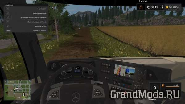 Mercedes Benz MP4 v 2.2.0 [FS17]