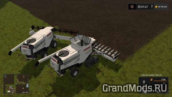 Claas Lexion 780 Limited Edition Set v1.0 [FS17]
