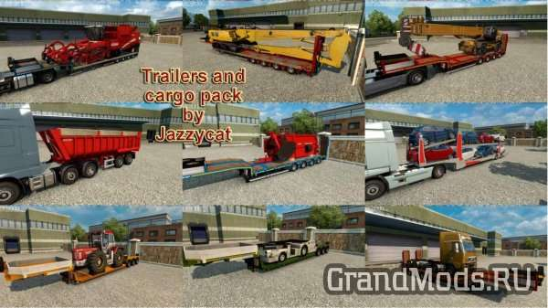 Trailers and Cargo Pack v7.4 [ETS2]