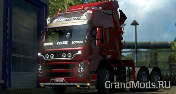 Volvo FM by Rebel8520 v 4.7.3 [ETS2 1.26]
