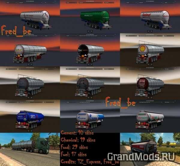 Trailer Pack Cistern V1.26 [ETS2]