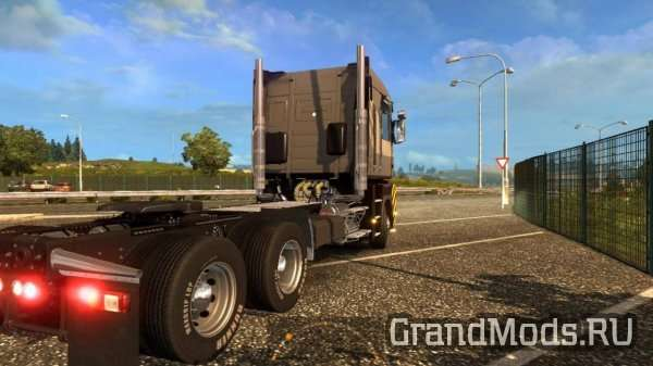 Renault Magnum 6×4 Chassis from CAT 660 [ETS2]