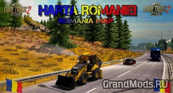 Map Romanian V 9.2.02 [ETS2]