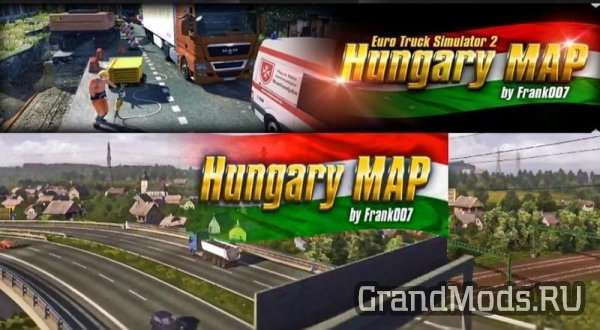 Map of Hungary + new textures v1.0.2 [ETS2]