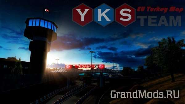 YKS TEAM EU TURKEY MAP V2.0 [ETS2]