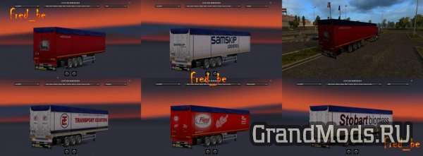 Trailer Pack Bodex V1.27 [ETS2]