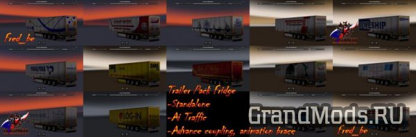 TRAILER PACK FRIDGE [ETS2]
