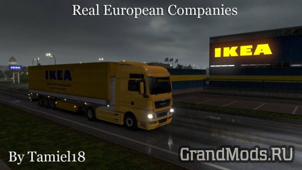 Real European Companies v2.42 [ETS2]