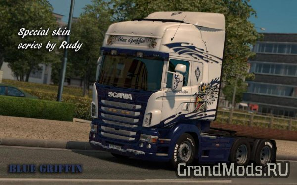 Special Skin Series White by Rudy [ETS2]
