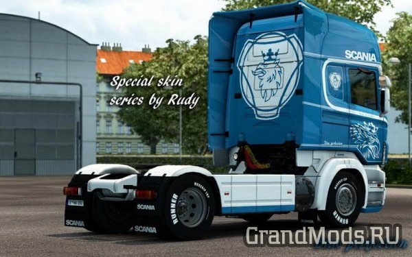 Special Skin Series Blue by Rudy [ETS2]