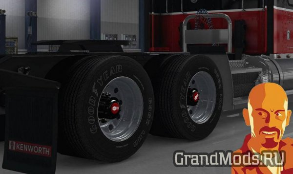 Kenworth Wheels Pack [ATS+ETS2]