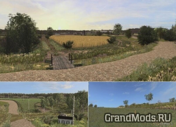 Карта Deep Village [FS17]